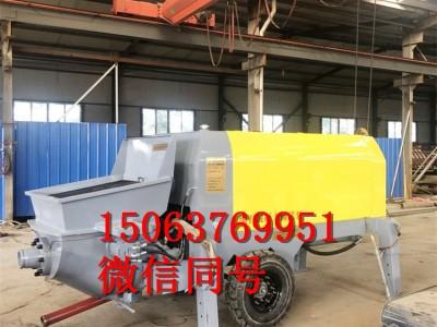 二次构造柱泵浇筑上料机 混凝土输送泵