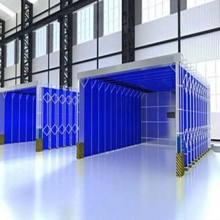 移动伸缩喷漆房系列大全 设计安装方案